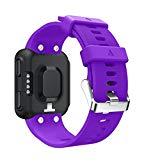 Replacement Band for Garmin Forerunner 35 Watch ,Tuscom (Purple)
